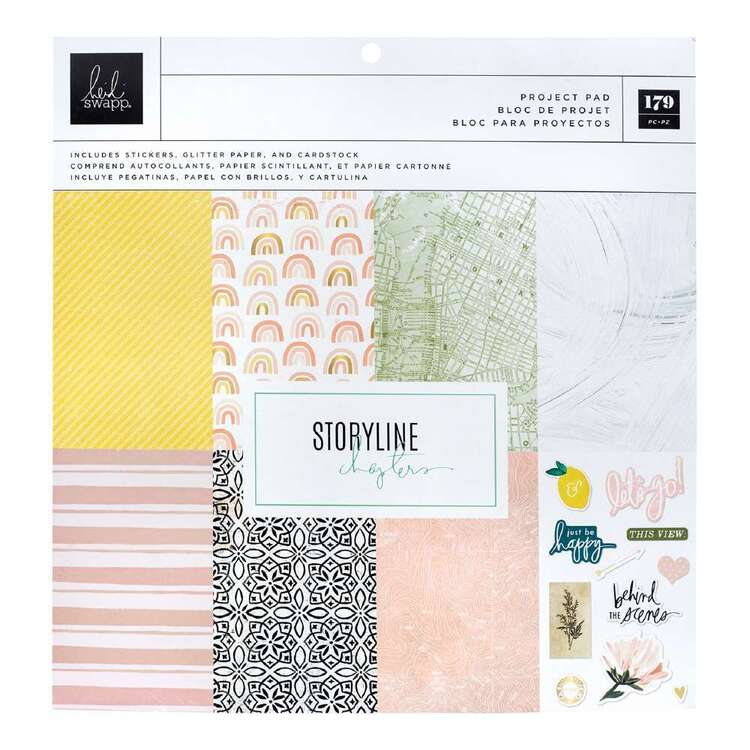 American Crafts Heidi Swapp Storyline Chapter Project Pad