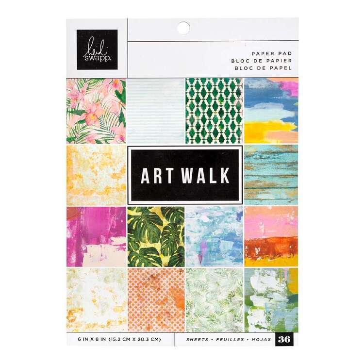 American Crafts Art Walk 6 X 8 in Paper Pad