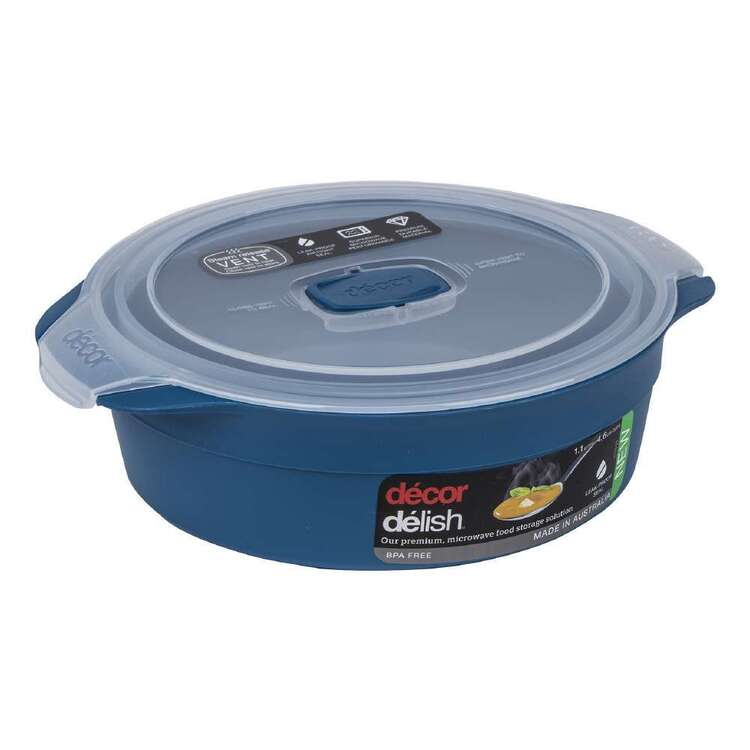 Décor Delish 2.1L Round Container