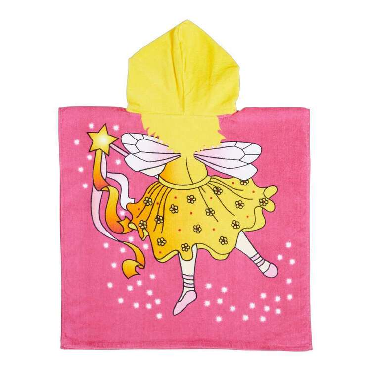 KOO Kids Fairy Hooded Beach Towel