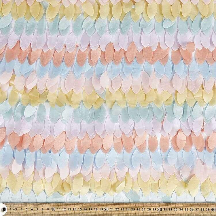 Pastel Petal 132 cm Polyester Fabric