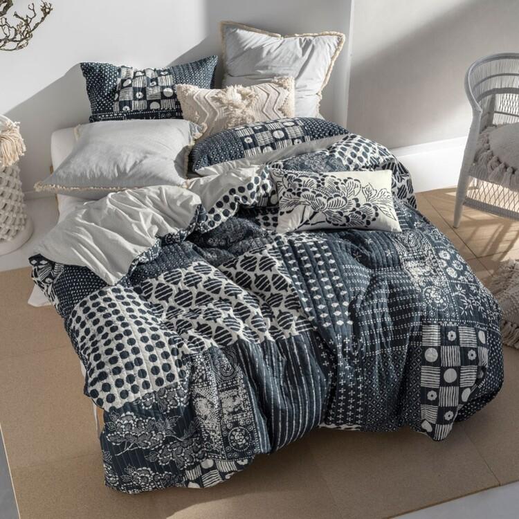 Linen House Zane Quilt Cover Set