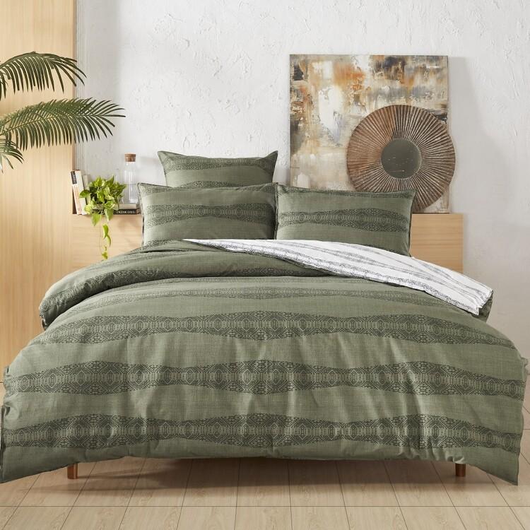 Fresh Cotton Moana Quilt Cover Set