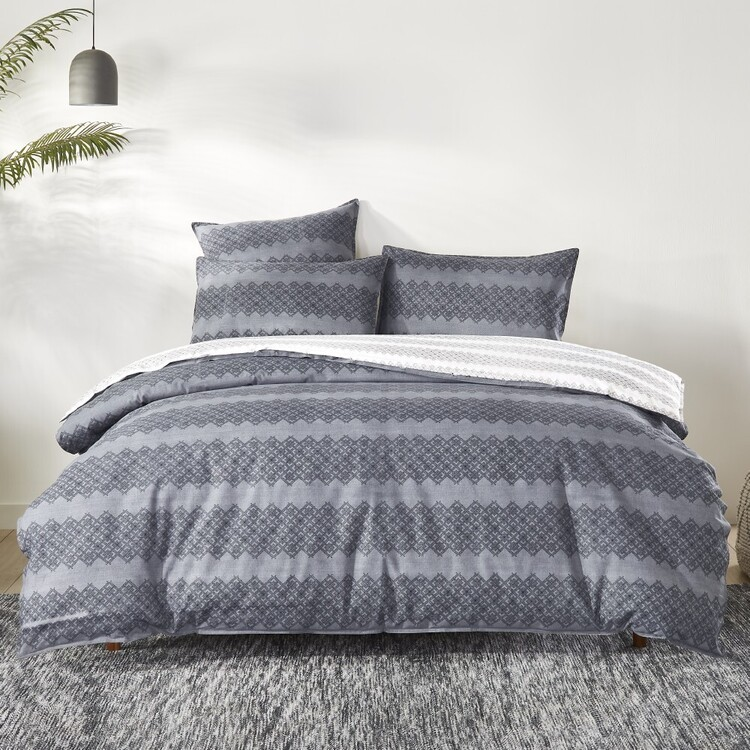Fresh Cotton Tomasa Quilt Cover Set