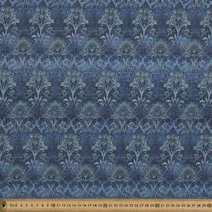 Damask Print #3 138 cm Cumbria Bubble Crepe Fabric