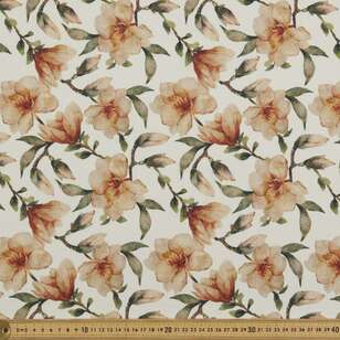 Flower Printed 138 cm Cumbria Bubble Crepe Fabric