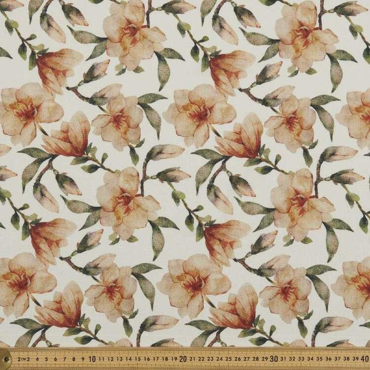 Flower Printed 138 cm Cumbria Bubble Crepe Fabric