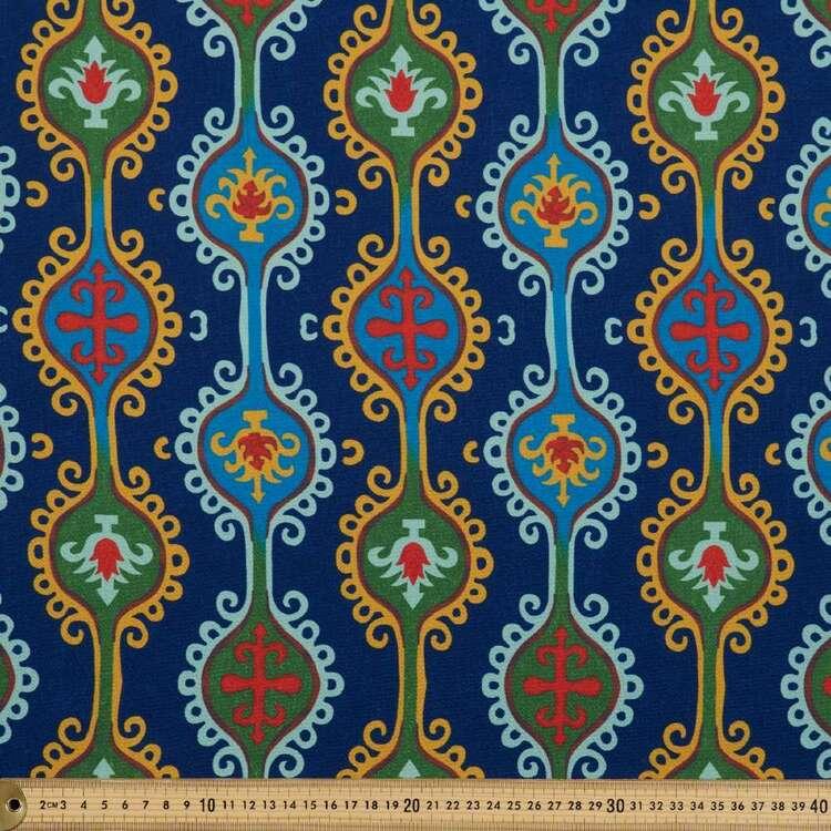 Damask Print #4 138 cm Cumbria Bubble Crepe Fabric