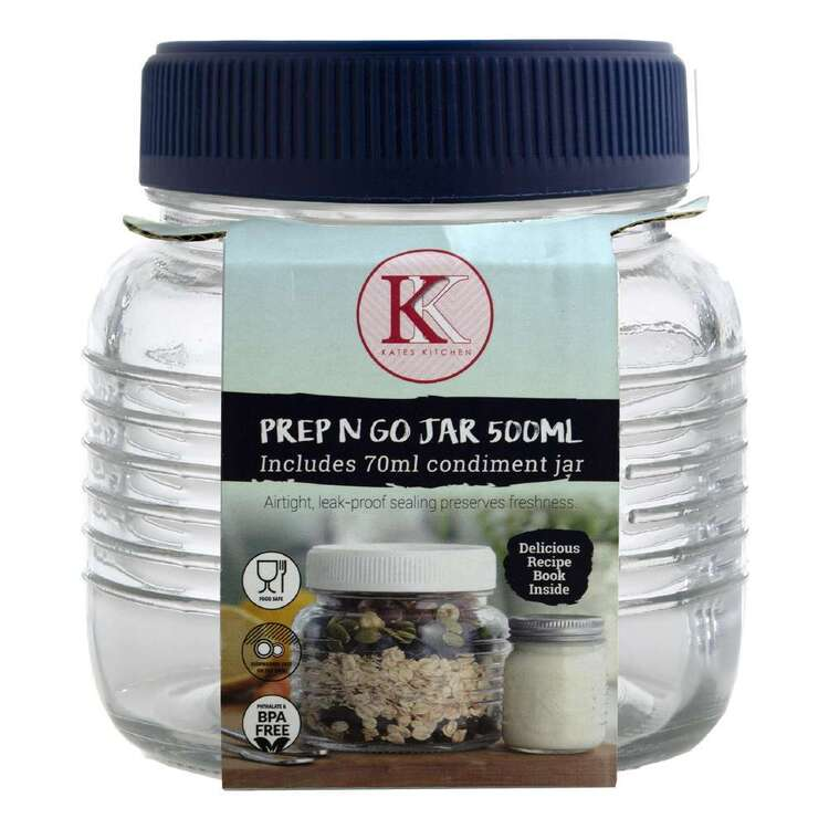 Kate's Kitchen 500 mL Prep And Go Jar
