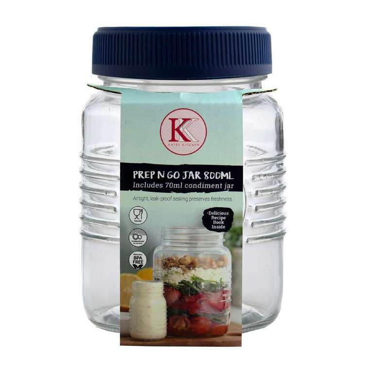 Kate's Kitchen 800 mL Prep And Go Jar