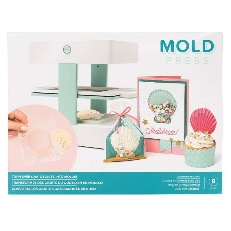 We R Memory Keepers Moldpress Machine