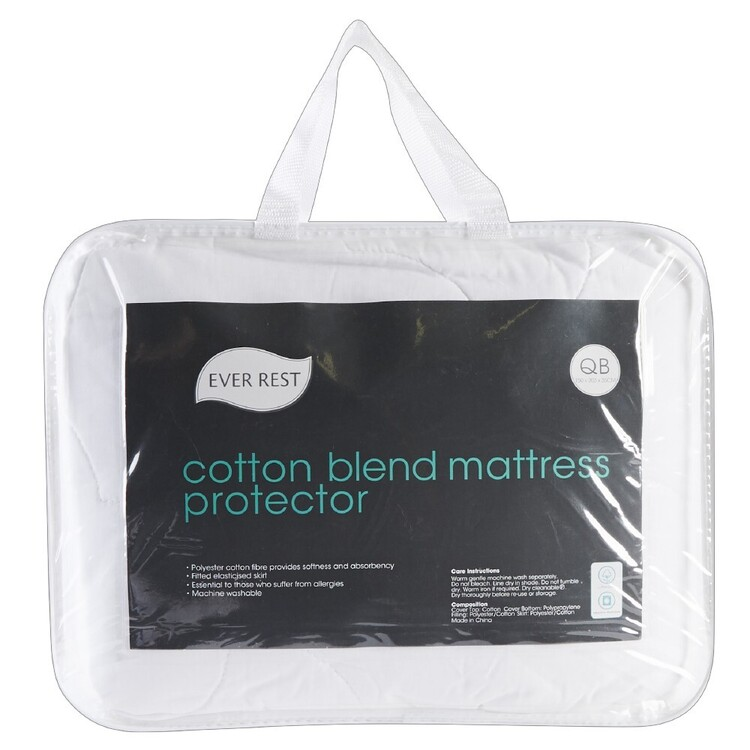 Ever Rest Cotton Blend Mattress Protector