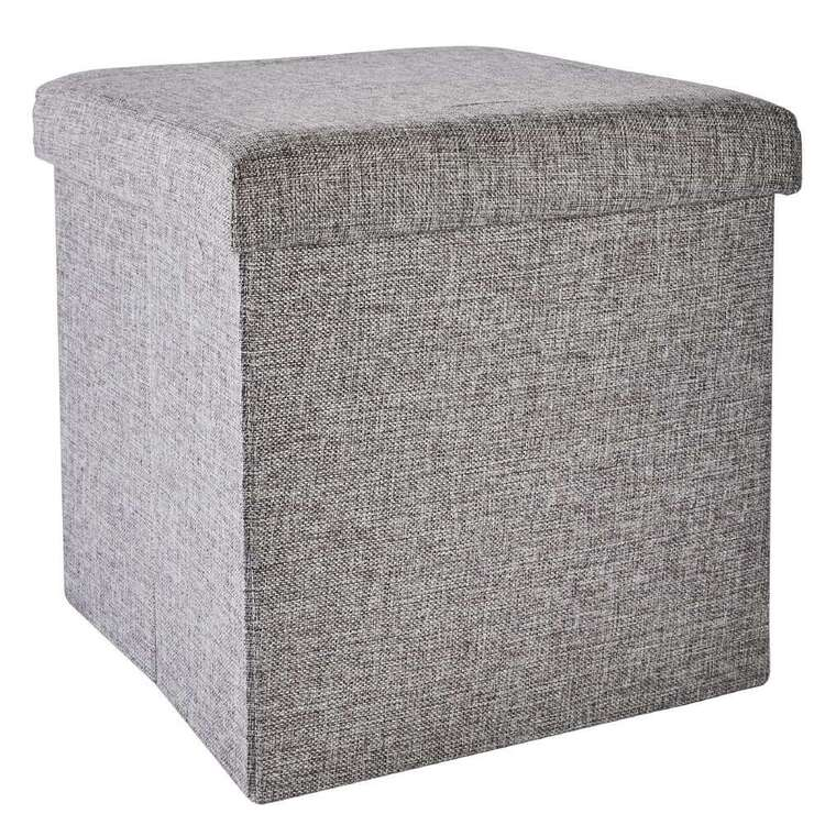 Living Space Small Storage Ottoman