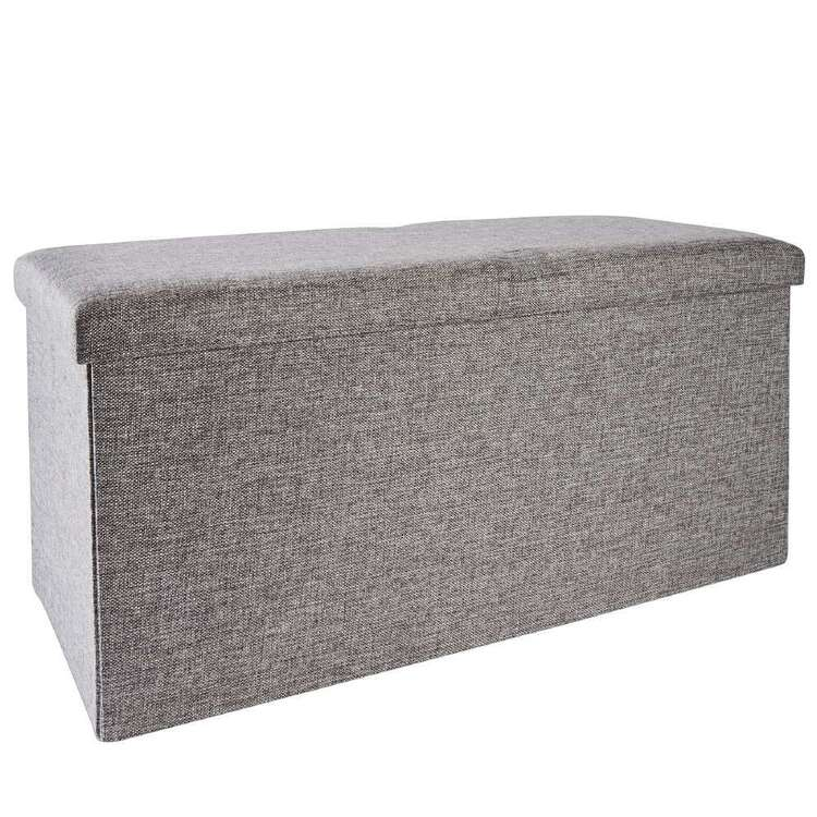 Living Space Large Storage Ottoman