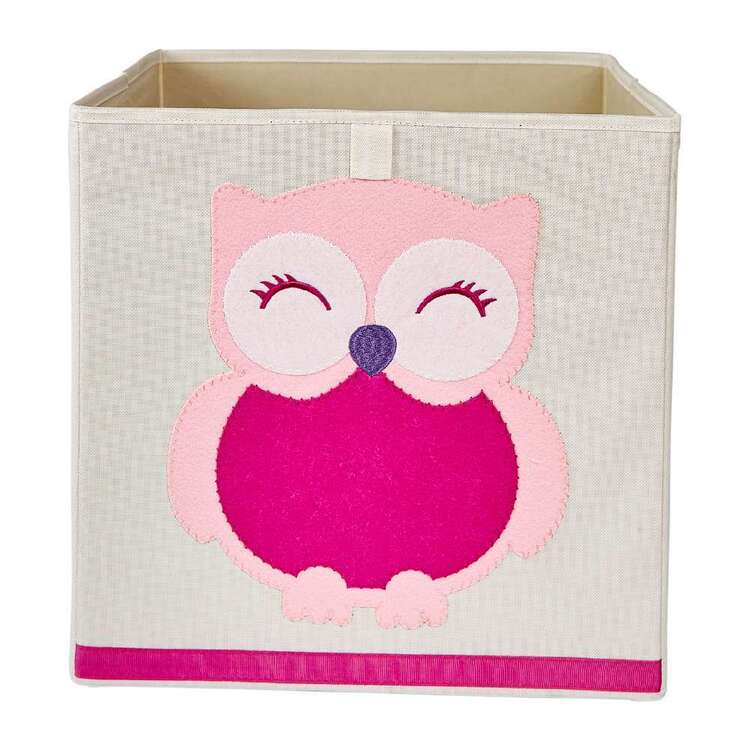 Living Space Owl Kids Storage Cube