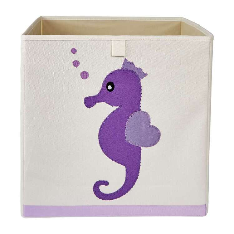 Living Space Seahorse Kids Storage Cube