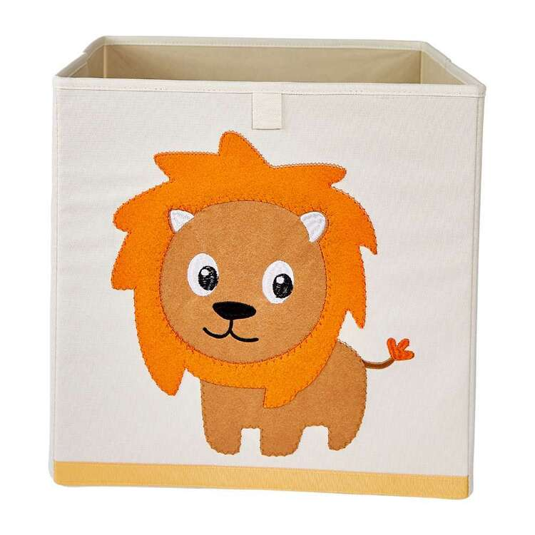 Living Space Lion Kids Storage Cube