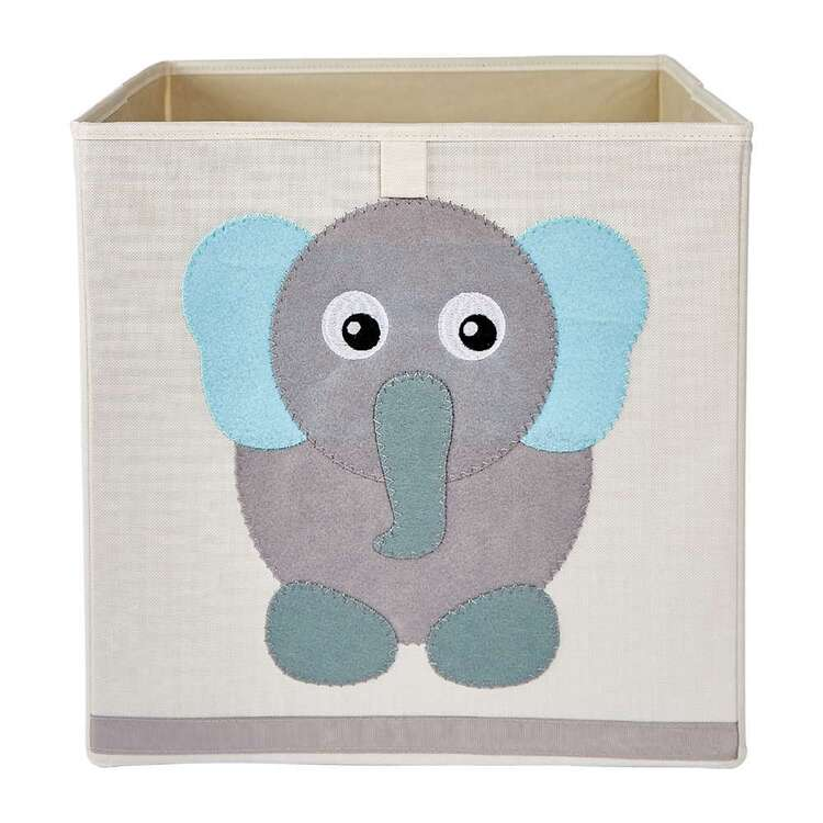 Living Space Elephant Kids Storage Cube