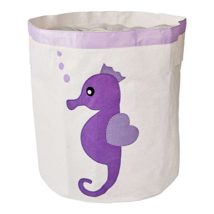 Living Space Seahorse Kids Storage Hamper