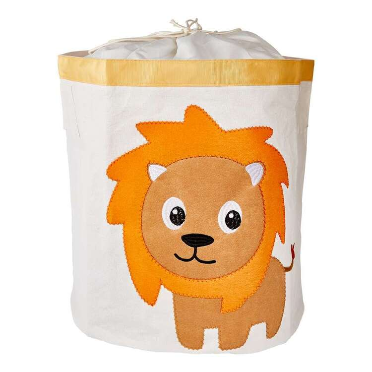 Living Space Lion Kids Storage Hamper