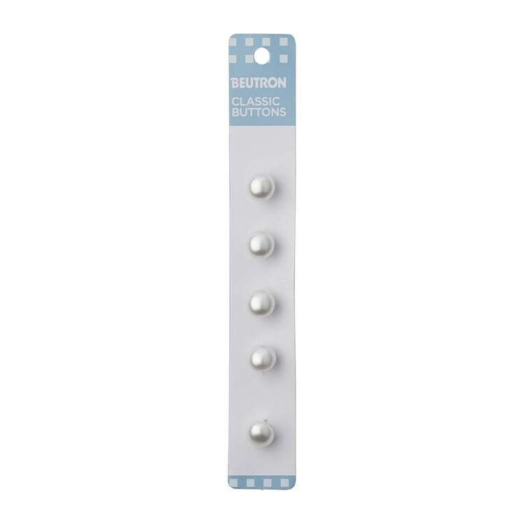 Beutron Classic Pearl Button 5 Pack