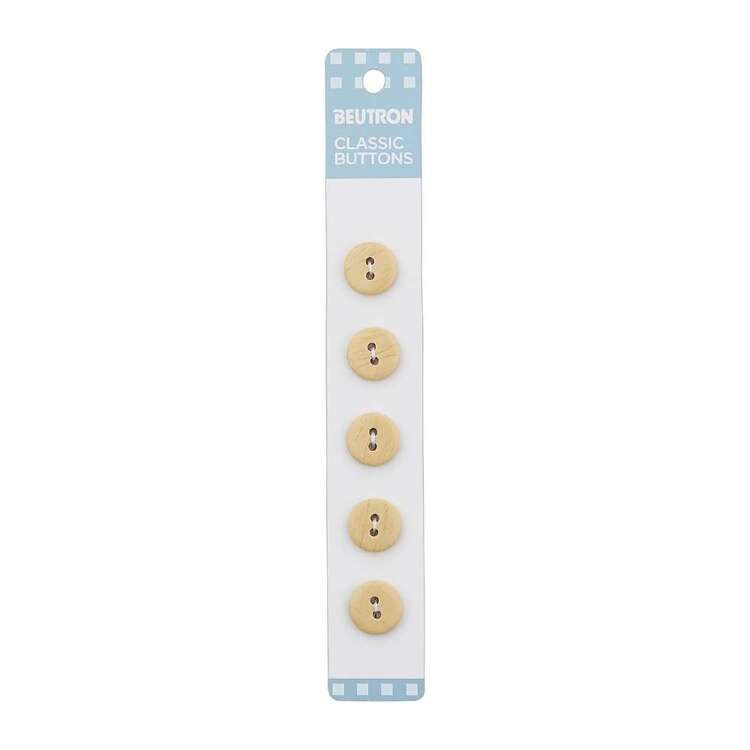 Beutron Classic 2 Hole Button 5 Pack