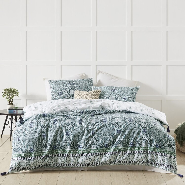 Fresh Cotton Indo Quilt Cover Set