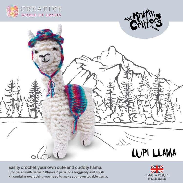 Knitty Critter Lupi Llama Pattern