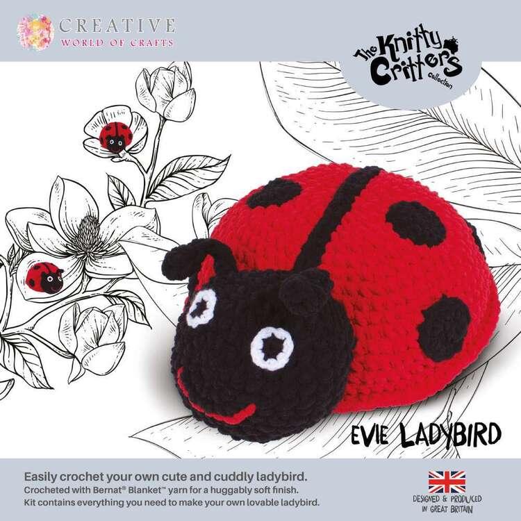 Knitty Critter Evie Ladybird Pattern