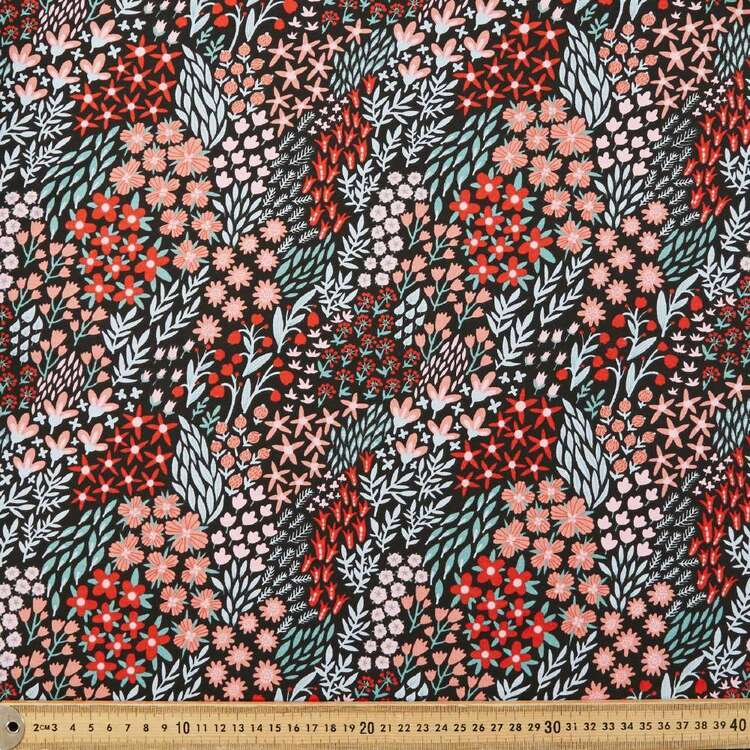 Daisy #1 Printed 112 cm Combed Cotton Jersey Fabric