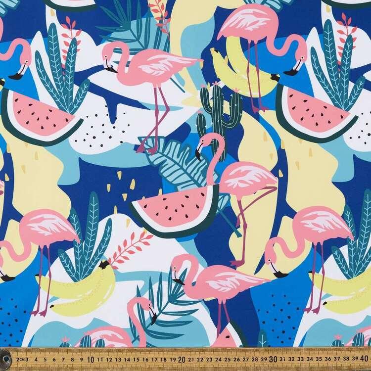 Flamingo Fun Printed 150 cm Trunk Microfiber Fabric