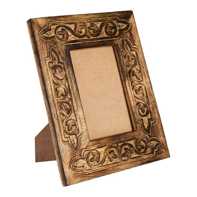 Living Space Etched Wood Frame 20 x 25 x 1.5cm