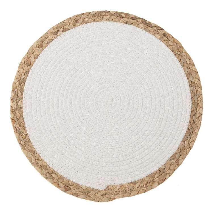 Bouclair Costa Round Straw Placemat