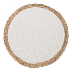Bouclair Costa Round Straw Placemat