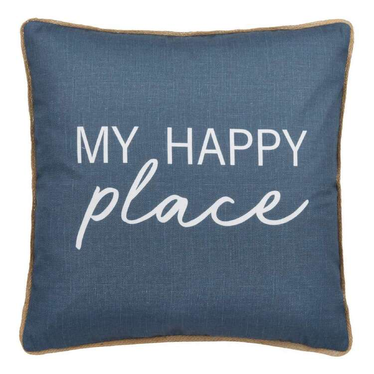 Bouclair Costa Typo Cushion