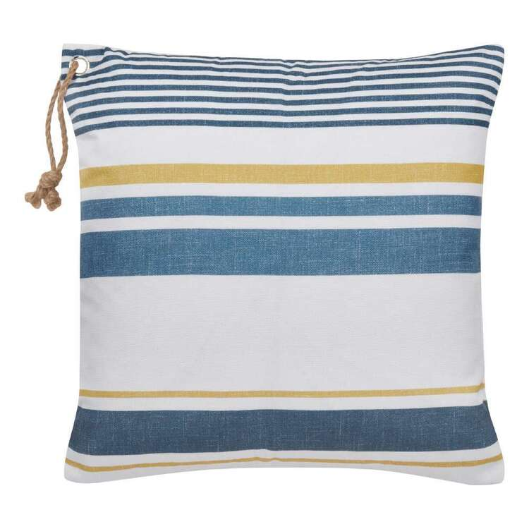 Bouclair Costa Stripes Cushion Multicoloured 46 x 46 cm