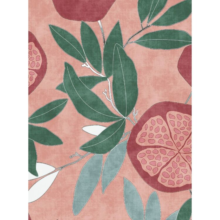 Tuscan Sun Pommes Printed 112 cm Montreaux Drill Fabric