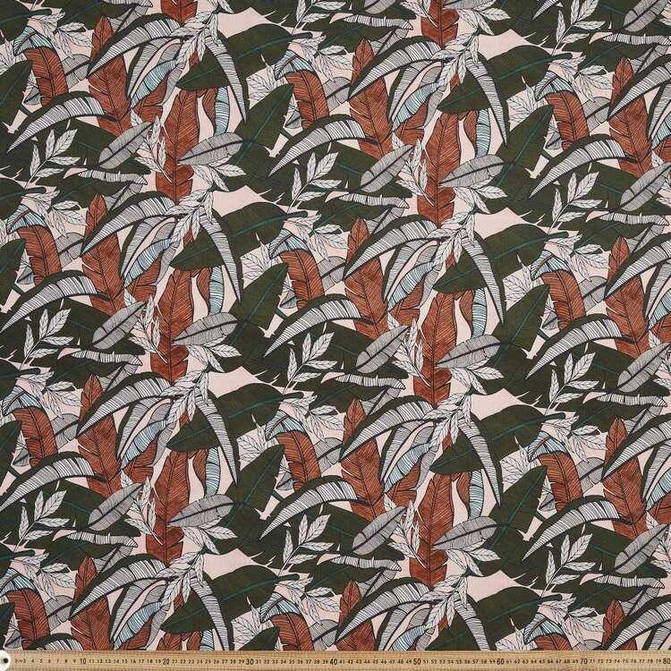 Tuscan Sun Palms Printed 112 cm Montreaux Drill Fabric