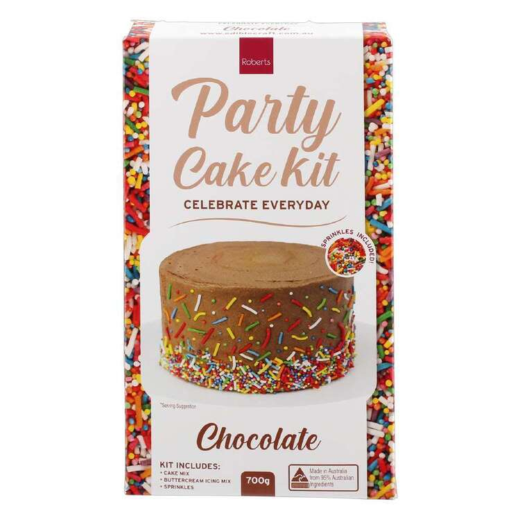Roberts Edible Craft Chocolate Everyday Cake Kit