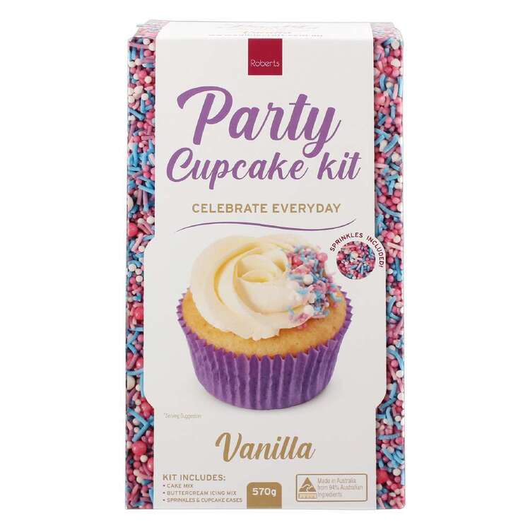 Roberts Edible Craft Vanilla Everyday Cupcake Kit