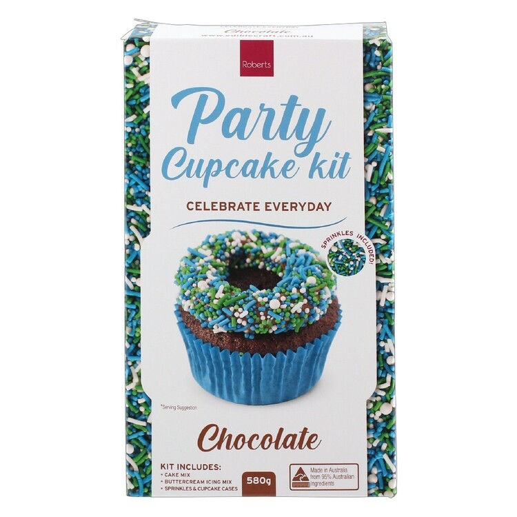 Roberts Edible Craft Chocolate Everyday Cupcake Kit