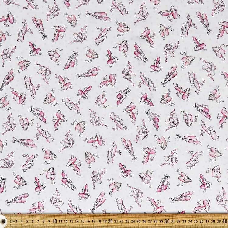 Ballet Shoes Cotton Fabric