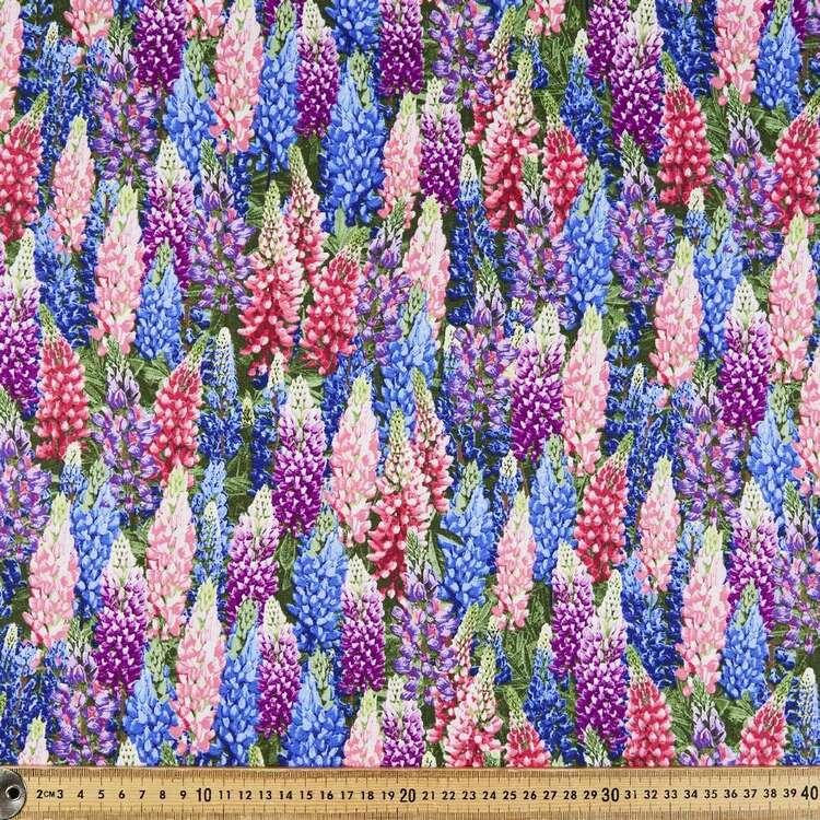 Foxgloves Cotton Fabric