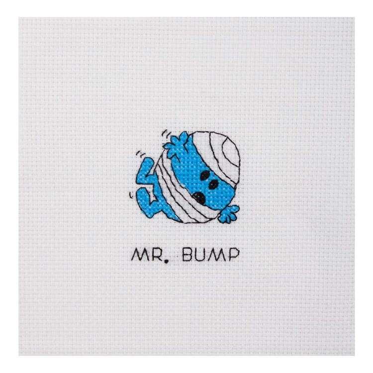Mr Men & Little Miss Mr Bump Mini Cross Stitch Kit