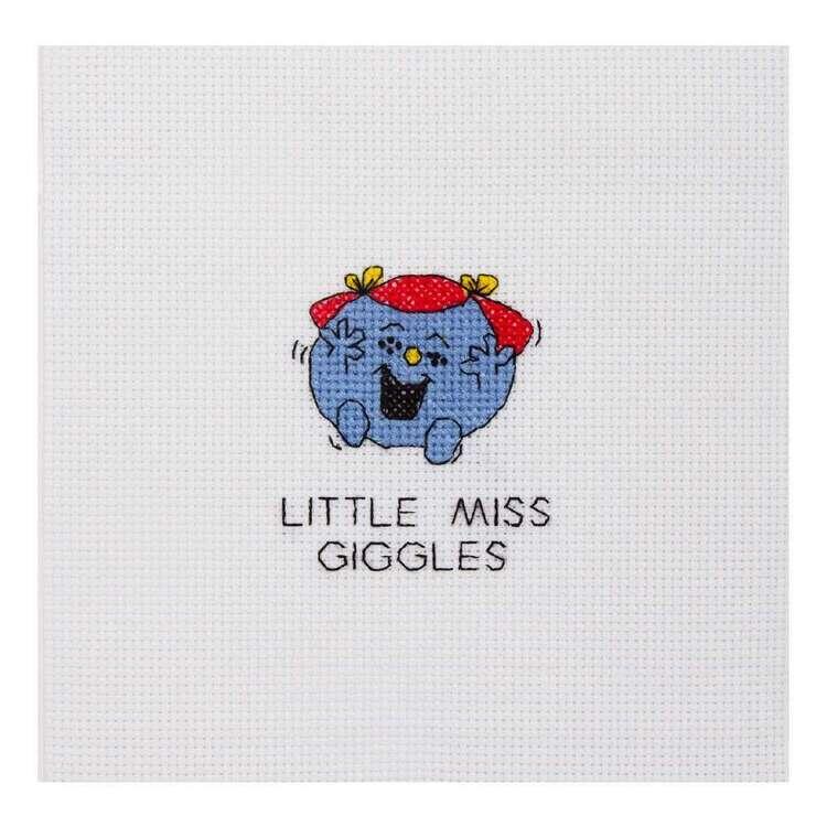 Mr Men & Little Miss Giggles Mini Cross Stitch Kit