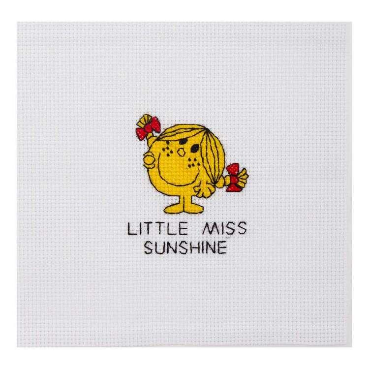 Mr Men & Little Miss Sunshine Mini Cross Stitch Kit