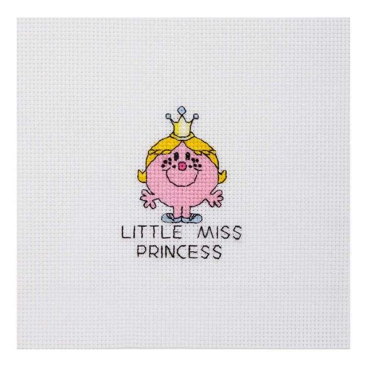 Mr Men & Little Miss Princess Mini Cross Stitch Kit