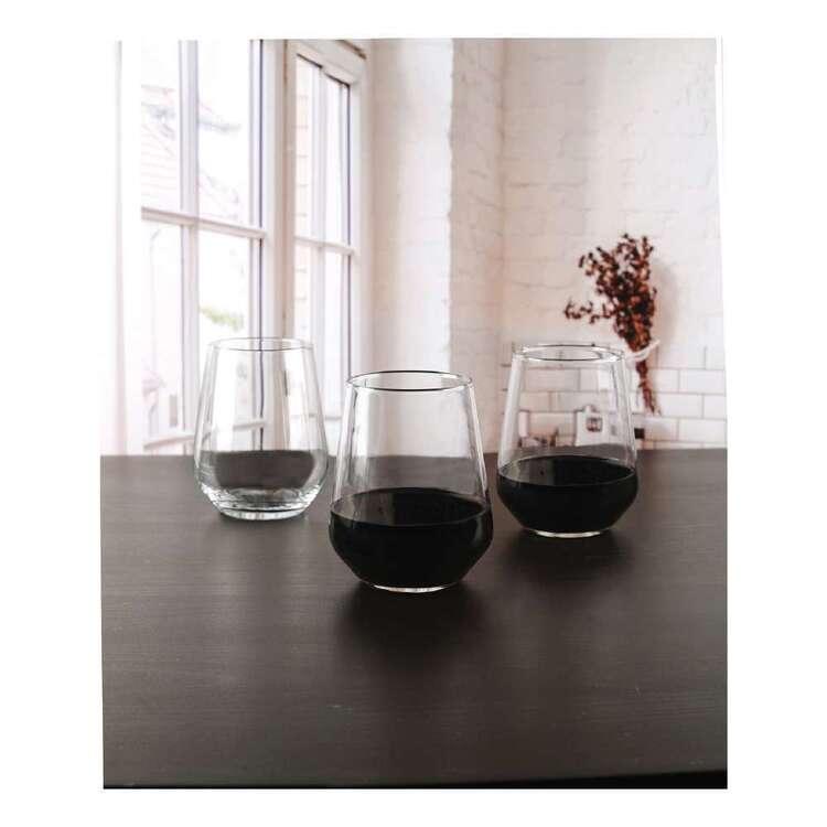 Circleware Capri Stemless Wine Glass 6 Pack