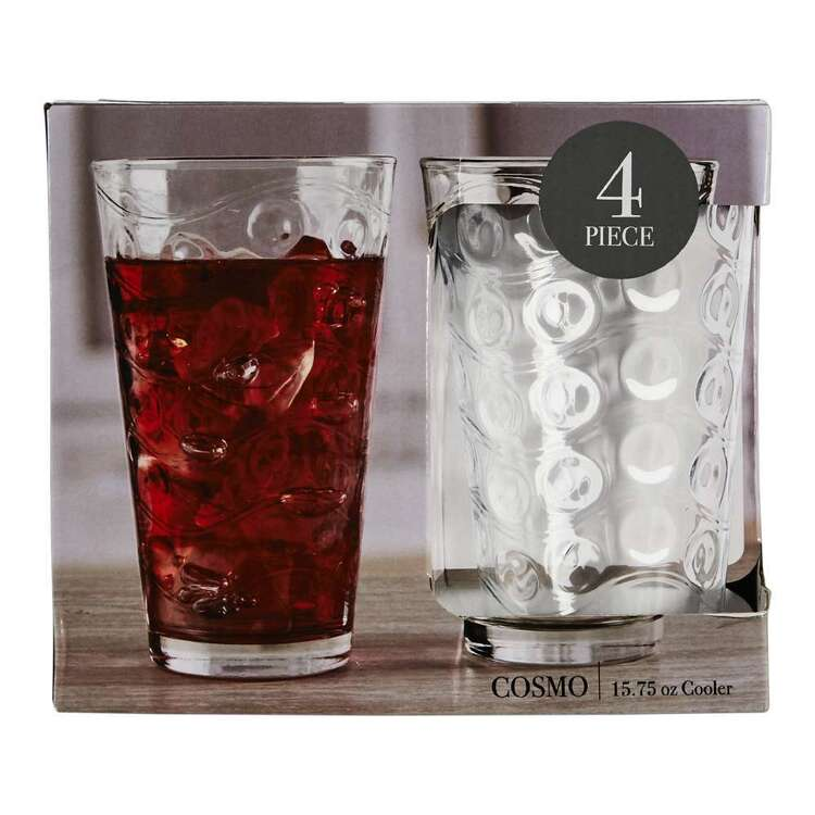 Circleware Cosmo Hi Ball Glass 4 Pack