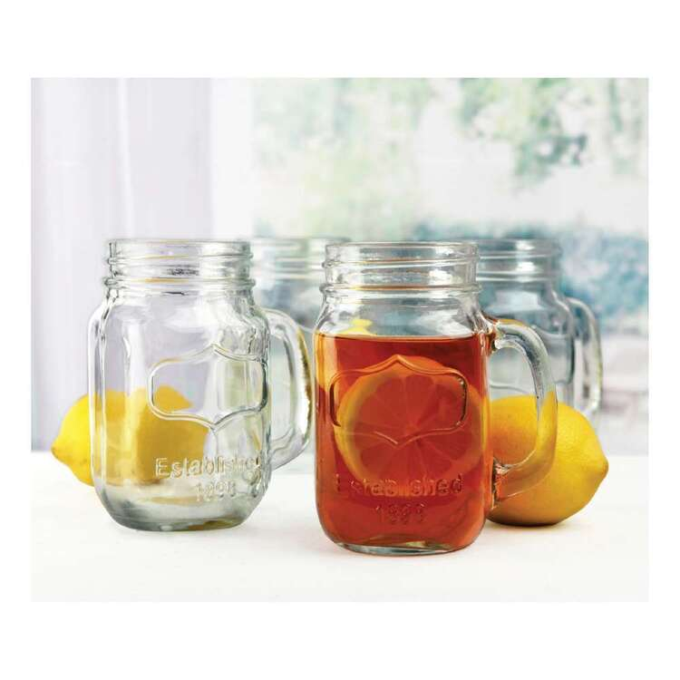 Circleware Yorkshire Mason Jar Mugs